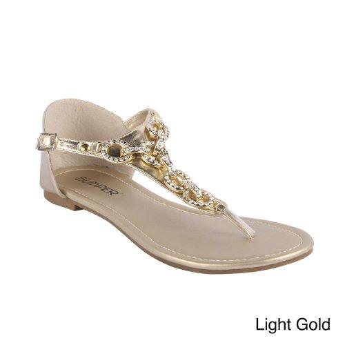 Sandali Donna Matilda 02 In Oro Chiaro