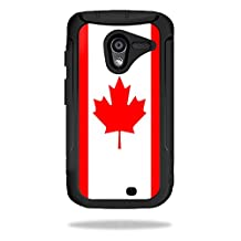 Mightyskins Protective Skin Decal Cover for OtterBox Defender Motorola Moto X Case wrap sticker skins Canadian Flag