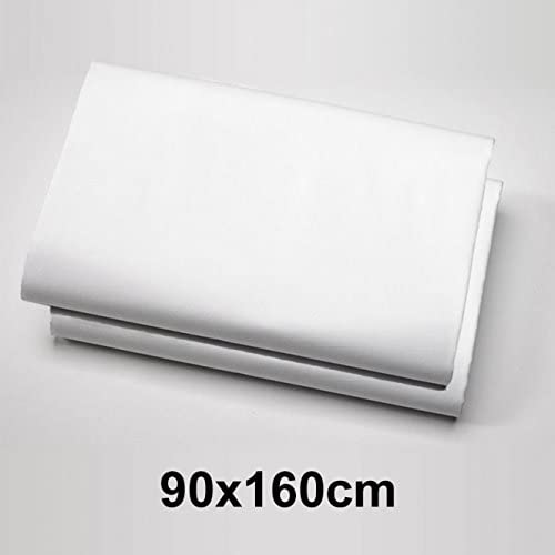 Lounge de zona 2 unidades – Sábana bajera ajustable (algodón jersey – Sábana bajera (160 x 90 cm color blanco 14197: Amazon.es: Hogar