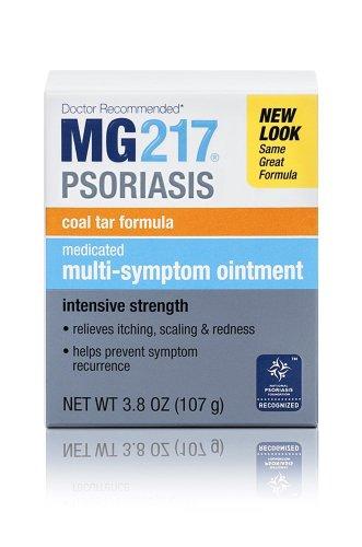 MG217 médicamenteux pommade de goudron, Traitement du psoriasis, Force intensif, 3,8 oz