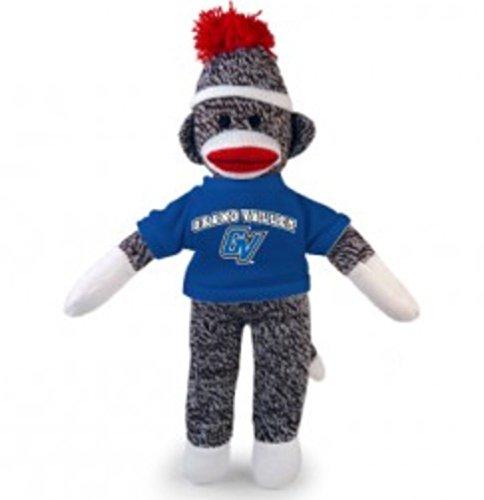 Plushland Grand Valley University Sock Monkey Keychain