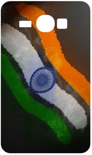 India Flag Art Wallpaper White Back Cover Case For Samsung Galaxy Core I8262