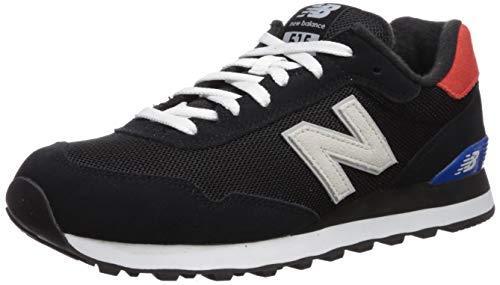 new balance Men's 515v1 Sneaker, Black/Energy RED, 14 XW covid 19 (Smooth Leather Footwear coronavirus)