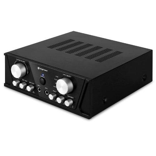 2X50W RMS Skytronic Amplificador est/éreo PA HiFi