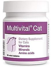 PETS Dolfos Multivital Cat 90 Mini Tabletas Vitaminas Minerales para Gatos