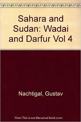 Wadai and Darfur v.4 Sahara and Sudan