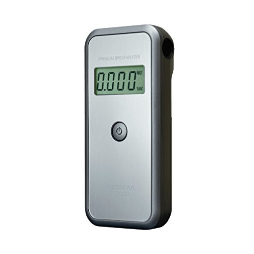 AlcoMate Premium (AL7000) Full Pack Alcohol Breathalyzer; home/business; detects BAC; no calibration