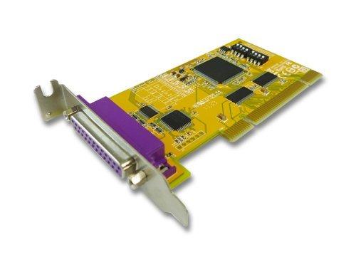 SUNIX 1-port Remap IEEE1284 Parallel Universal PCI Board Model PAR5008R+L