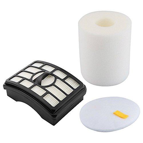 ZLZH Vacuum Filter for Shark Rotator Professional Lift-Away Compatible HEPA Filter & Foam & Felt Filter for Shark NV500, NV501, NV502, NV505, NV510, NV552, UV560. Replaces Part # XHF500 & XFF500 (Shark Nv502 Best Price)
