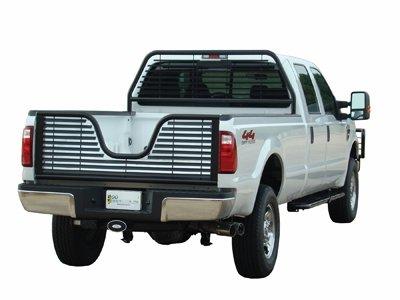 Go Industries Inc. 51539 Headache Rack Cab Protector, Round Tube, Black, For Select Ford Trucks