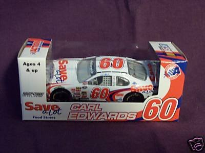 2008 Action Racing Collectibles #60 Carl Edwards Save-a-lot (Limited Edition Collectable) 1:64 Scale Stock Car - Nascar Diecast Car Nationwide Series by Action Racing (Nascar Stock Car Limited Edition)