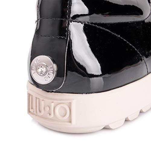 Liu Jo Femme Noir Mocassins Jeans Noir Pour xB6Zq