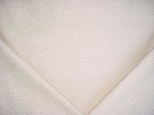 215H5 - Off White / Ecru Textured Boucle Twill Designer Upholstery Drapery Fabric - By the - Ecru Upholstery