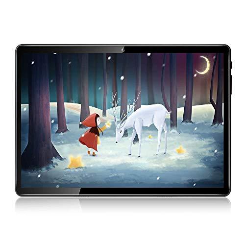 10 inch Tablet PC Octa Core,4G LTE Dual sim,RAM 4GB,ROM 64GB,1920×1200 IPS,12MP Camera,WiFi,Android 7.0-Black
