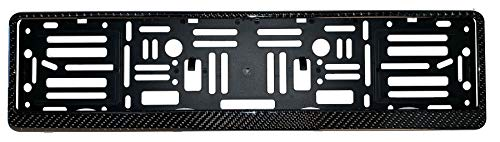 (European License Plates Carbon Fiber Frame)