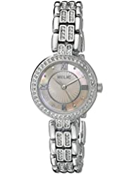 Relic Womens ZR34344 Haven Analog Display Analog Quartz Silver Watch