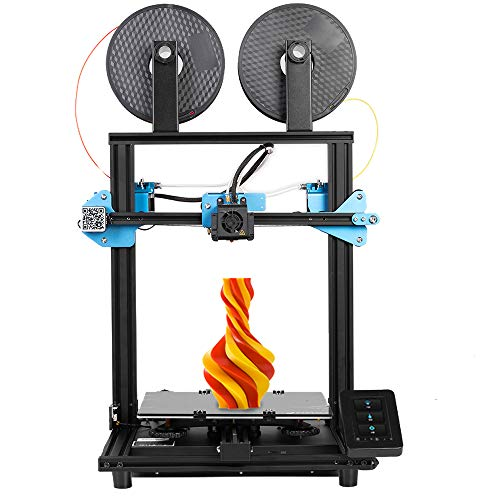 Sovol SV02 3D Printer with All-Metal Dual Extruder, Silent Board TMC2208 Drive, Meanwell Power Supply, Tempered Glass…
