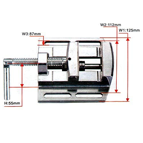 FISTERS Multifunction Worktable Milling Working 2Axis Worktable For Bench Drill