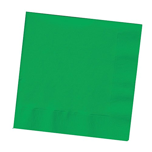 Creative Converting Touch Napkins Emerald