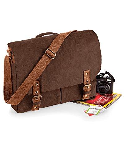 Quadra A Brown Donna Vintage Spalla Borsa qq7CwW15H4