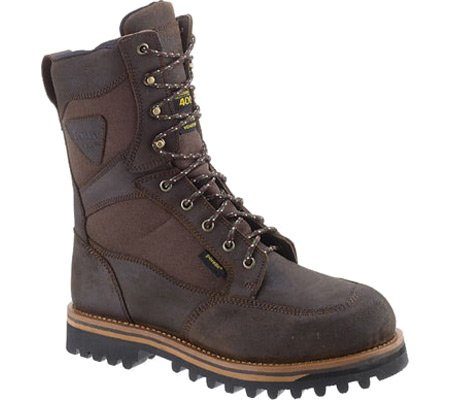 "Men's 11"" Cordura Waterproof Oiled Leather Hunting Boots 1614"