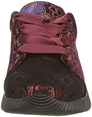 Sneakers Delphine Femme Rouge Rouge Rouge Laura Basses Vita 178 SxqWw5zUtp