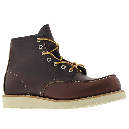 Red Wing Heritage Men's Classic Work 6-Inch Moc Toe Boot,Brown,10 D (Red Wing Casual Boots)
