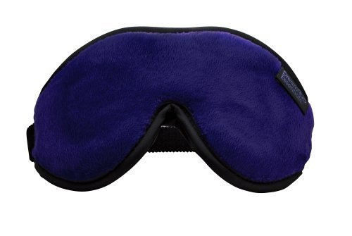 Dream Essentials Escape Luxury Travel and Sleep Mask with Earplugs and Carry Pouch, Navy by Dream Essentials