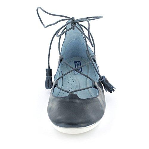 Pikolinos azul W7E Bailarinas 3590 OC de Ocean Piel mujer para aZwaqr