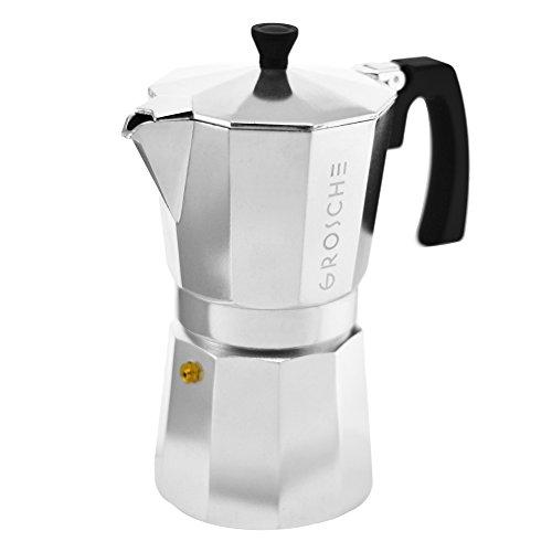 Grosche Milano Moka 9-Cup Stovetop Espresso Coffee Maker ...