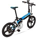 41k6FyKf5bL. SS150 Alta velocità Biciclette veloce elettrici for adulti alluminio piegante della bici elettrica rimovibile 48V 10.4Ah Batteria rimovibile neve Mountain bike for adulti 400W Assisted E-Bike a doppio disco