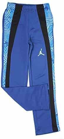 55f89b6c7f02 Nike Boys Jordan Jumpman Dri-Fit Stay Cool Pants - Insignia Blue (Medium)