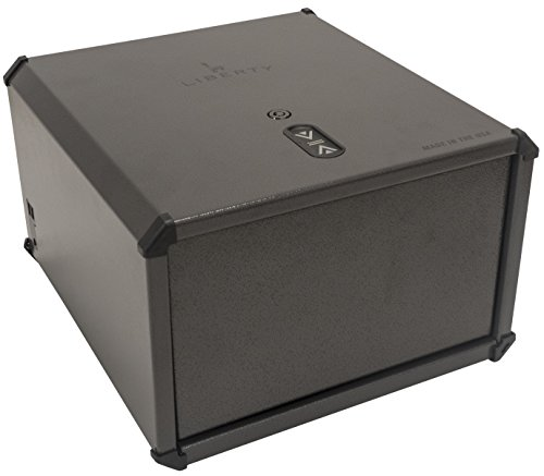 Liberty Safe Biometric Smart Handgun Vault (HDX-350) Heavy Duty, 15 Finger Print Memory