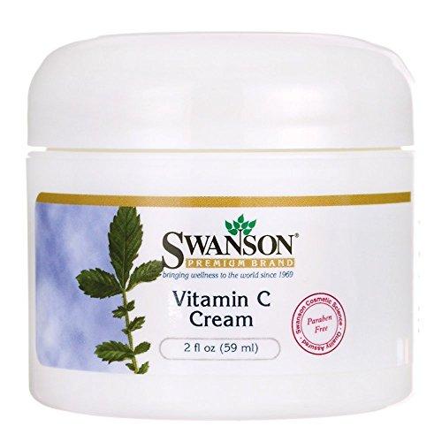 Swanson Vitamin C Cream 2 fl Ounce (59 ml) Cream