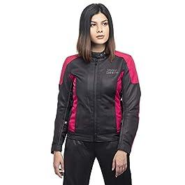 Royal Enfield Women's Breeze Riding Jacket (Black, S, 40 cm, RRGJKLW00005)