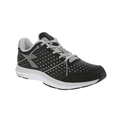 Chaussures Nj 159943 Baskets D'ex Diadora Sportif Gris Forme Remise Noir 1 Femme De 404 En W Cours Aq5Xw5