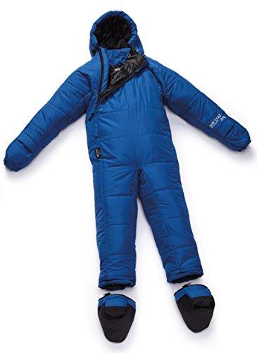 Selk'bag Adult Lite 5G Wearable Sleeping Bag: Seaport Blue, X-Large -