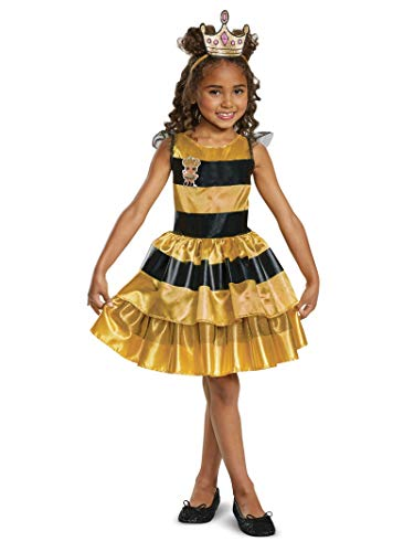 Disguise Queen Bee Classic Child Costume, Yellow,