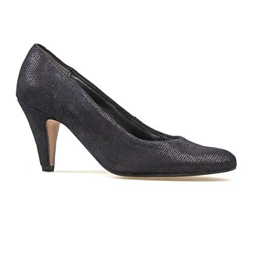 Black Shoes Women's Beetle Court Holt Print Dal Van qOXgxAw