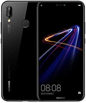 Huawei Nova 3e Dual SIM - 64GB, 4GB RAM, 4G LTE, Midnight
