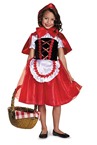 Little Red Riding Hood Costume, Small (4-6x) -