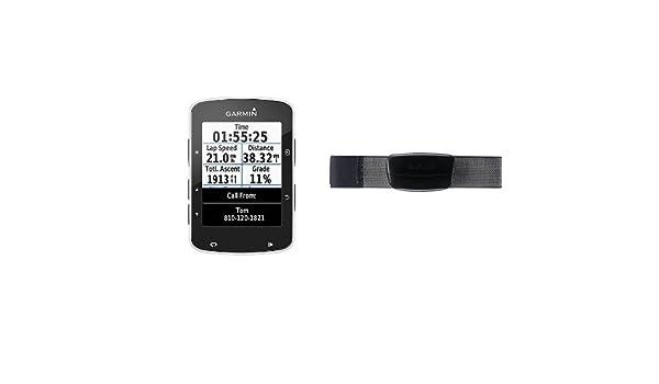 Garmin Edge 520 + Monitor de frecuencia cardiaca premium (correa ...