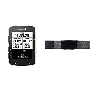 Garmin Edge 520 + Monitor de frecuencia cardiaca premium ...