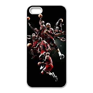 Michael Jordan iPhone 4 4s Cell Phone Case White xlb-204659