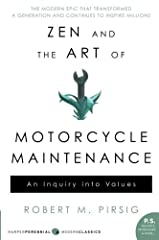 Note: The font size of the text in the book is 11.5 ptA penetrating examination of how we live and how to live betterA narration of a summer motorcycle trip undertaken by a father and his son, Zen and the Art of Motorcycle Maintenance becomes...