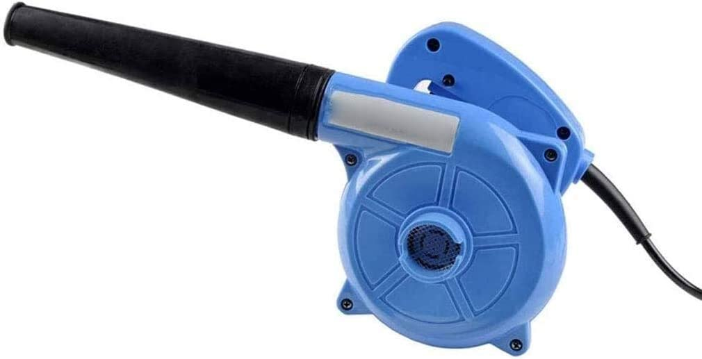REWD Jardín Soplador eléctrico de Hojas 2-en-1 portátil Gas Powered Soplador de Hojas - Gasolina portátil del Ventilador para el Cuidado del césped con Capacidad de vacío, Azul