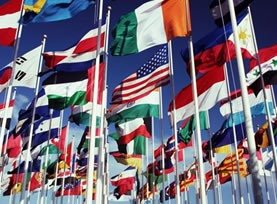 All UN Members - 3' x 5' Nylon Flag Set