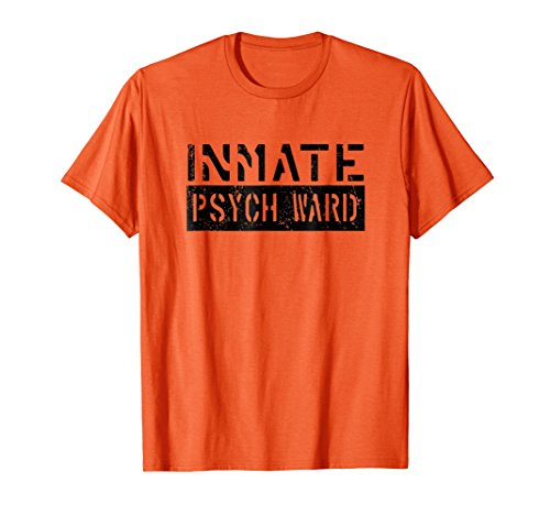 Inmate Psych Ward Halloween Costume Shirt -