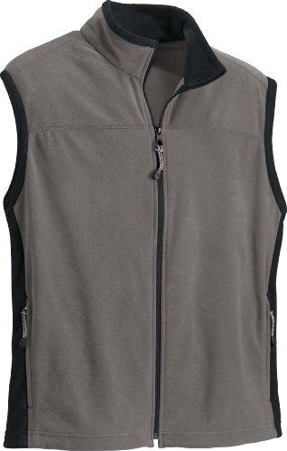 - Ash City Mens Microfleece Vest_Tundra w/Black_XL