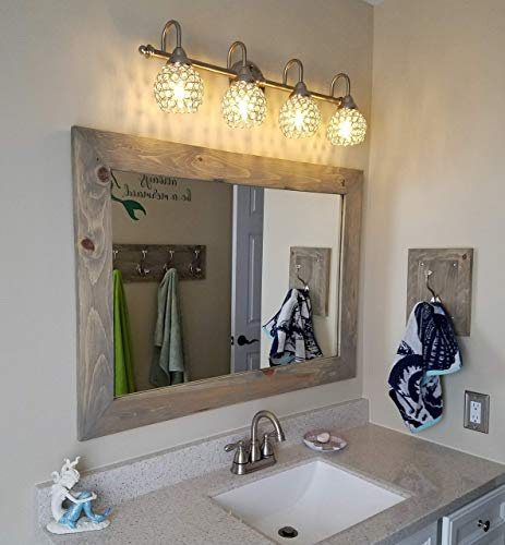 Shiplap Large Wood Framed Mirror Available in 3 Sizes for sale  Delivered anywhere in USA